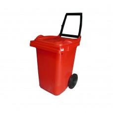 60 Litre Plastik Çöp Konteyneri