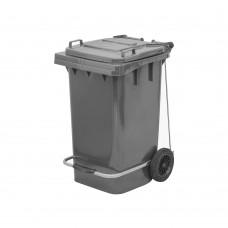 80 Litre Plastik Pedallı Çöp Konteyneri