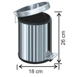 İç Mekan Pedallı Çöp Kovası 1001