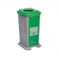 50 Litre Plastik Sıfır Atık Geri Dönüşüm Kovası