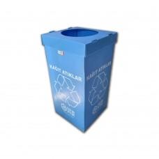 Kağıt Sıfır Atık Geri Dönüşüm Kutusu 70 Litre